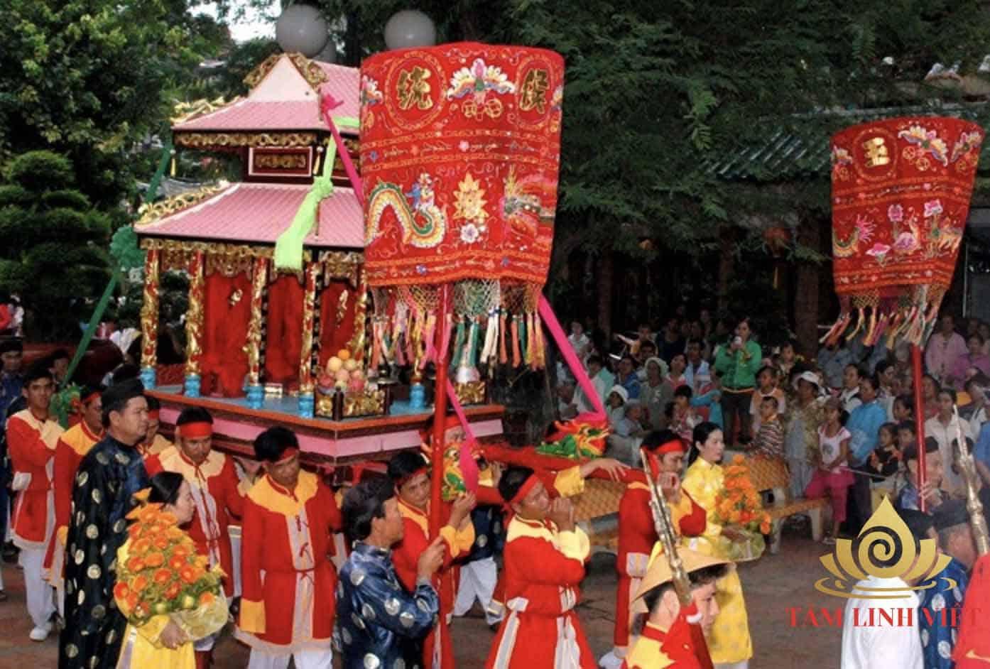 Cần chuẩn bị văn khấn bà chúa xứ Châu Đốc kỹ càng khi tham gia lễ hội