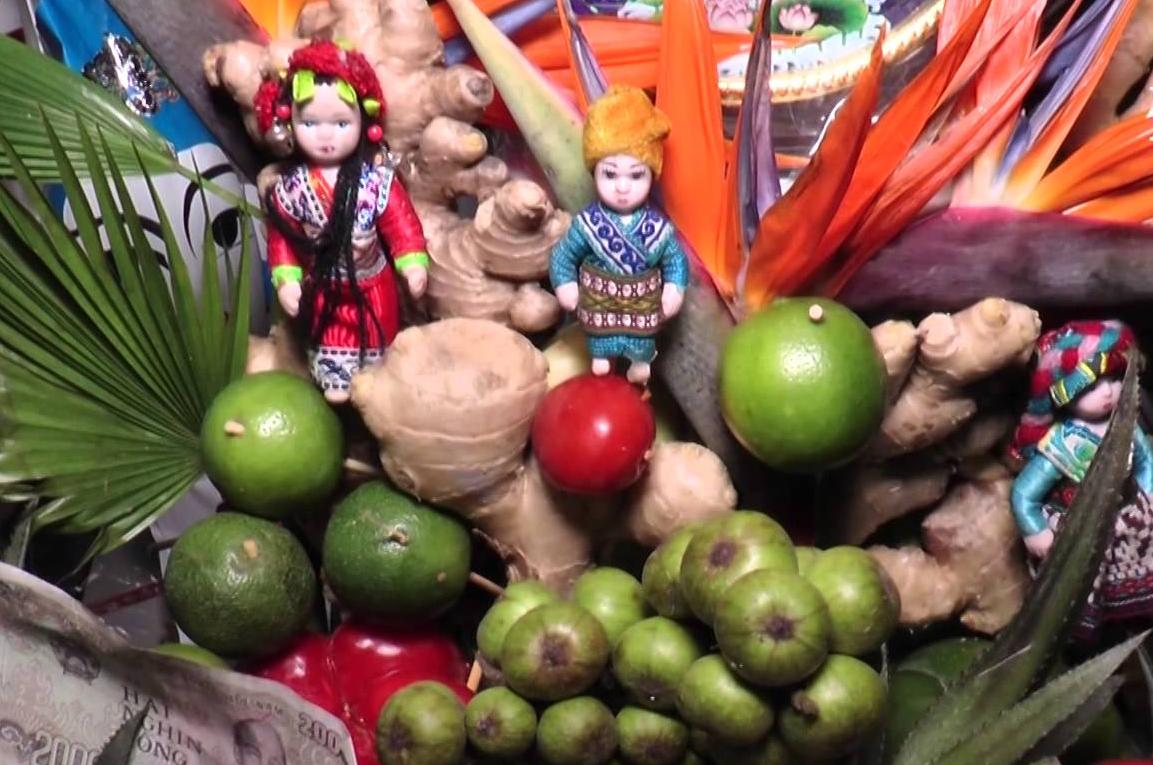 Chuẩn bị lễ vật và văn khấn ban Sơn Trang đầy đủ
