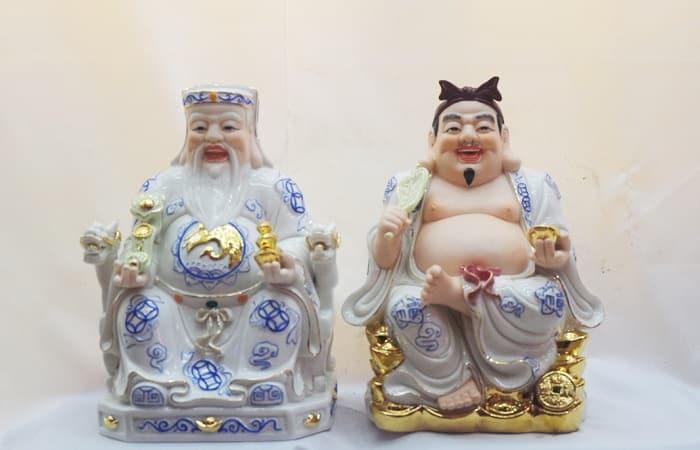 Có nên thờ 2 ông địa thần tài? 1